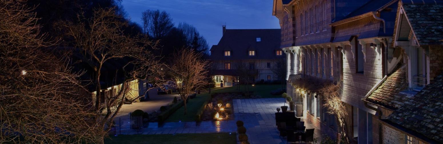 Hotel La Ferme Saint Simeon – Buitenkant