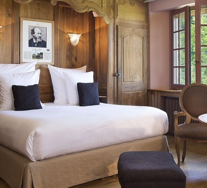 Hotel La Ferme Saint Simeon - Deluxe Double Room