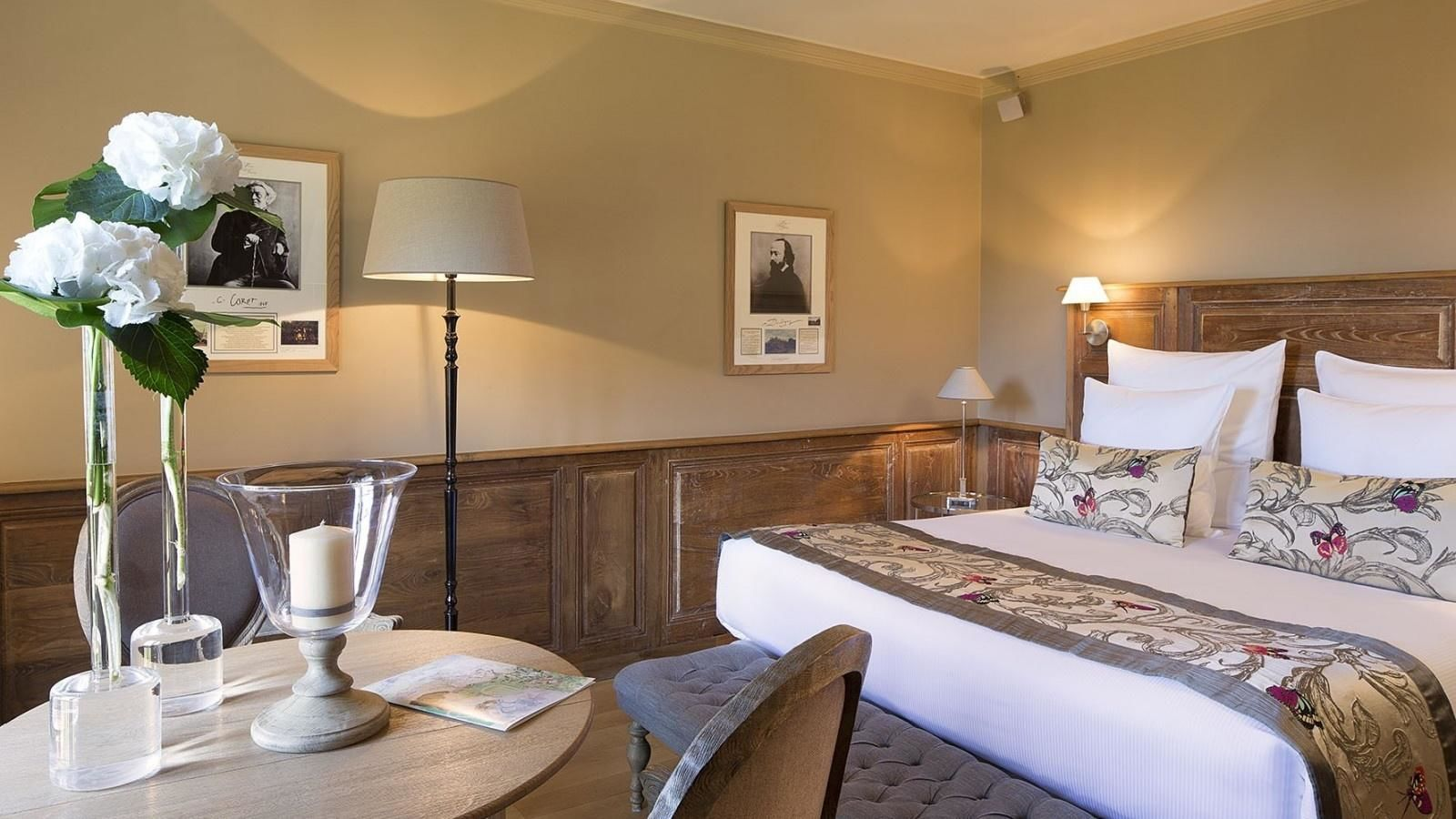 Hotel La Ferme Saint Simeon - Superior Doppelzimmer
