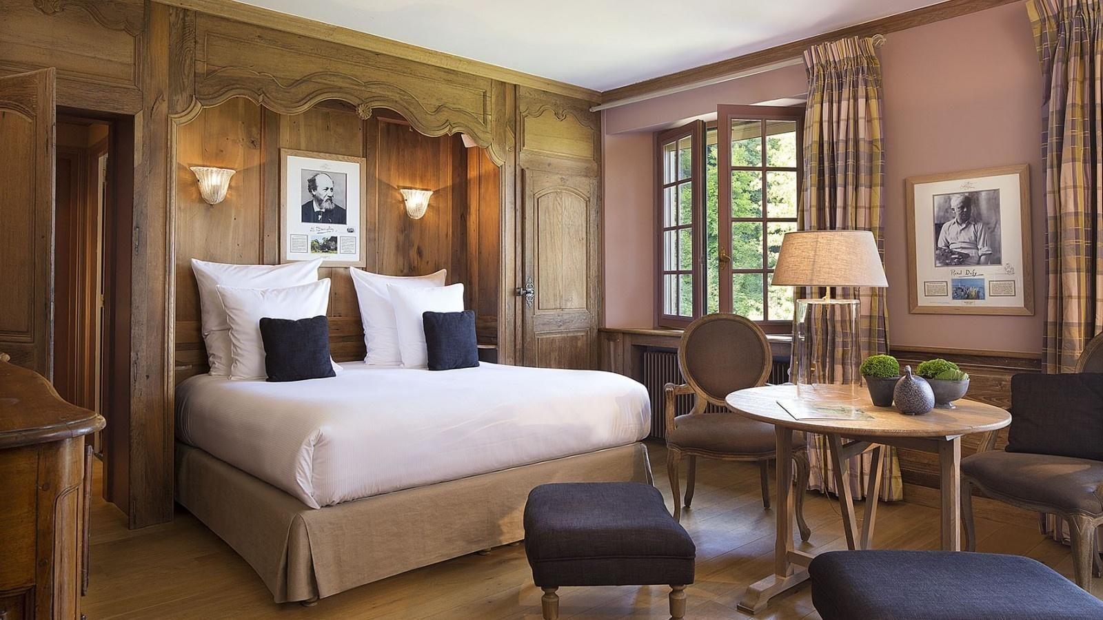 Hotel La Ferme Saint Simeon - Deluxe Tweepersoonskamer
