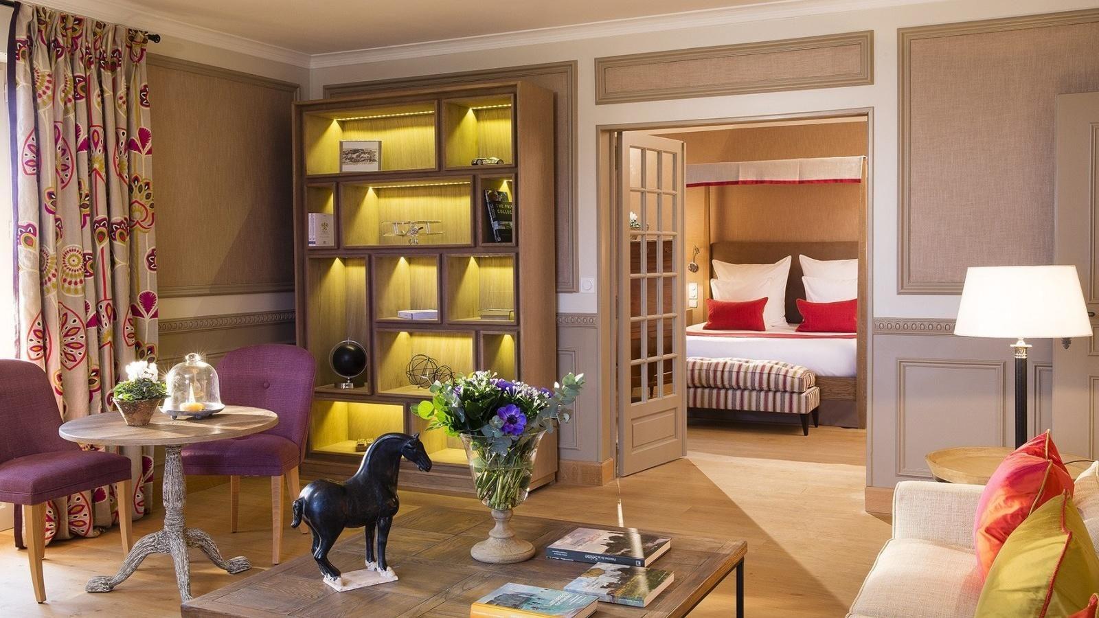 Hotel La Ferme Saint-Simeon – Suite