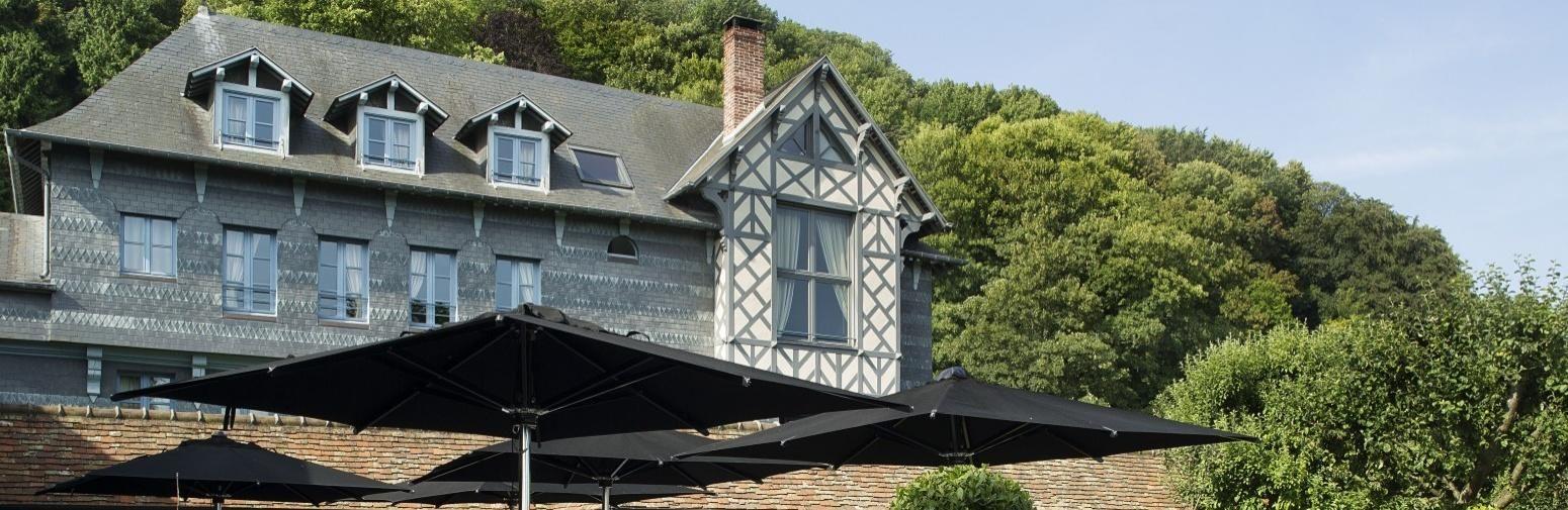 Hotel La Ferme Saint Simeon -  Alrededores