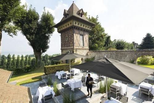 Ferme Saint Siméon – Terrace