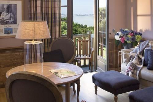 Ferme Saint Siméon – Luxury Room with Estuary View