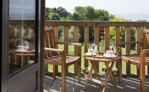 Ferme Saint Siméon – Superior Room with Garden View