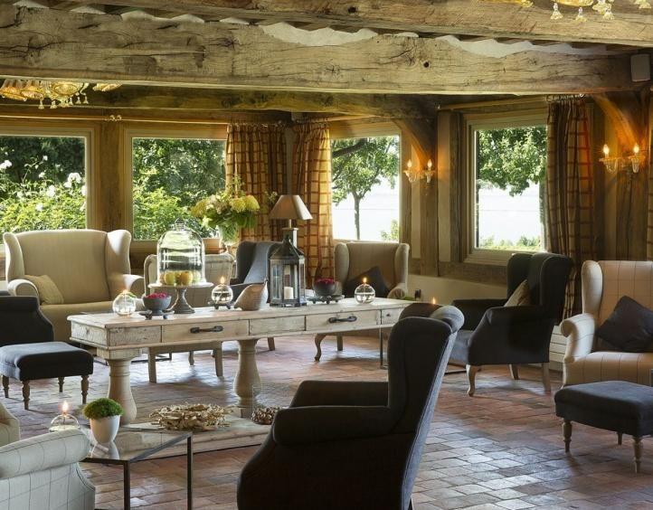 Hotel La Ferme Saint Simeon - Lounge en Bar