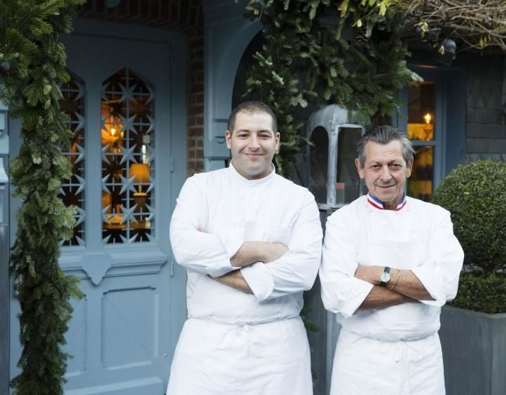 Hotel La Ferme Saint Simeon - Restaurante