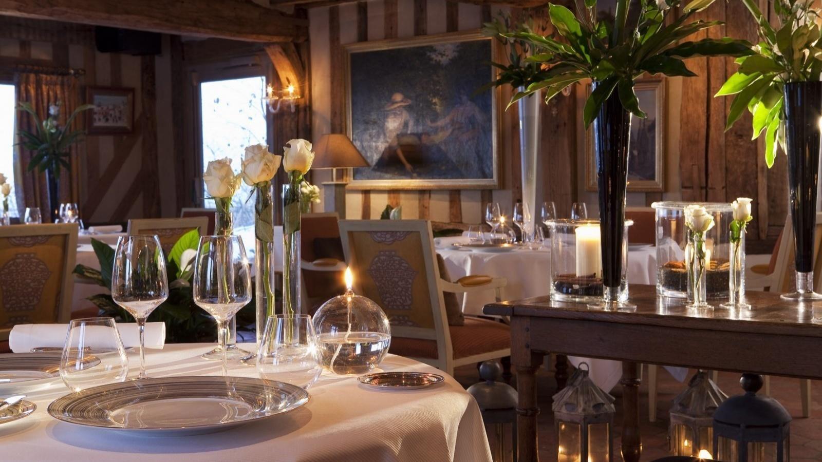 Hotel La Ferme Saint Simeon  - Restaurant en bar